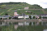 Zell,Mosel River,Germany — Stock Photo
