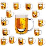 Mug fresh beer cartoon — Stock Vector #13416988