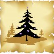 Royalty-Free Stock Vectorafbeeldingen: Abstract christmas tree