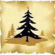 Abstract christmas tree — Stock Vector #13610379