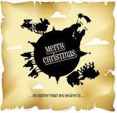 Wesołych Świąt wszystkim — Wektor stockowy