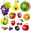 Funny fruit cartoon — Stock Vector #14569631