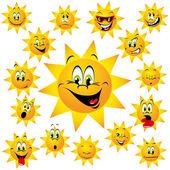 幸せな日 — ストックベクタ