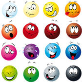 Color balls — Stock Vector