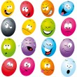 Cartoon eggs — Stock Vector