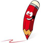 Desenho de lápis — Vetor de Stock