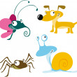 Royalty-Free Stock Vector Image: Animal cartoon