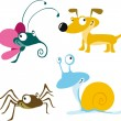 Stock Vector: Animal cartoon