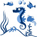 Sea animals — Stock Vector #17455073