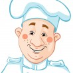 Chef cartoon — Stock Vector