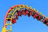 Rollercoaster Ride — Stockfoto