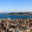 Royalty-Free Stock Photo: Istanbul Golden Horn Panorama from Galata Tower, Turkey