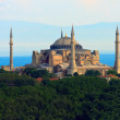 Hagia Sophia before Marmara sea, Istanbul, Turkey — Stock Photo