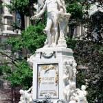 Mozart Memorial Monument in Vienna Burggarten, Austria — Stock Photo #13379282