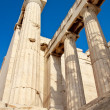 Acropolis temple details, Athens, Greece — Stock Photo