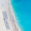 Myrtos Beach aerial view — Stock Photo