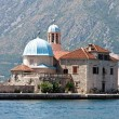 Our lady of the Rock, Perast, Kotor Bay, Montegro — Stock Photo