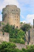 Castle of Rumeli guarding the Bosporus, Istanbul, Turkey — Stock Photo