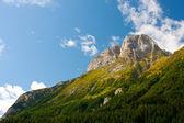 Carinthian mountain on border to Italy (Austria) — Stock Photo
