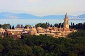 托普卡帕宫前马尔马拉海,伊斯坦布尔,土耳其 — 图库照片