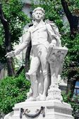 Mozart Memorial Monument in Vienna Burggarten, Austria — Stock Photo