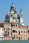 Venice Cathedral, Santa Maria della Salute — Stock Photo