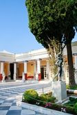 Achileon Palace, Corfu, Inner courtyard — Stock Photo