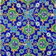 Stock Photo: Iznik tiles colorful ornamental details
