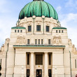 Famous Otto Wagner Art Nouveau / Jugendstilkirche on the Vienna - Stock Photo