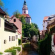 View on Cesky Krumlov World Heritage Site - Stock Photo