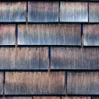 Clapboard house shingle roof — Stock Photo