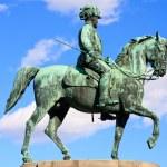 Statue of archduke Albrecht of Austria, Vienna — Stock Photo