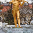 Stock Photo: Johann Strauss Status, ViennStadtpark, Austria