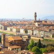 Panorama View of Florence, Tuscany, Italy — Stock Photo