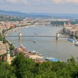 Stock Photo: Budapest Danube Panorma, Hungary