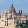 Hungarian Parliament Budapest, Hungary — Stock Photo