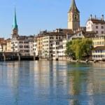 Zurich Cityscape, Switzerland — Stock Photo #13382487
