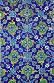 Iznik tiles colorful ornamental details — Stock Photo