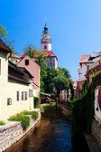 View on Cesky Krumlov World Heritage Site — Stock Photo