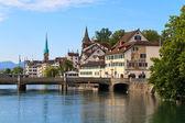 Zurich Cityscape, Switzerland — Stock Photo