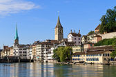 Zurich Cityscape, Switzerland — Stock Photo