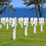 American War Cemetery near Omaha Beach, Normandy (Colleville-sur — Stock Photo #13406614