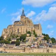 Mont Saint Michel Abbey, Normandy ,Brittany, France — Stock Photo #13410489