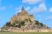 Mont Saint Michel Abbey, Normandy ,Brittany, France — Stock Photo