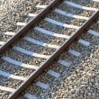 railroad track — Stock Photo