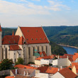 Znojmo, Znaim, Church of St. Nicolas, Czech Republic - Stock Photo
