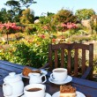 Garden Tea — Stock Photo