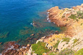 Picturesque rocky coast, Jersey, Channel Islands — Stock Photo