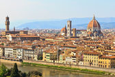 View of florence, firenze-toscane, italië — Stockfoto