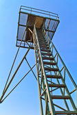 Iron Curtain Watch Tower — Stock Photo